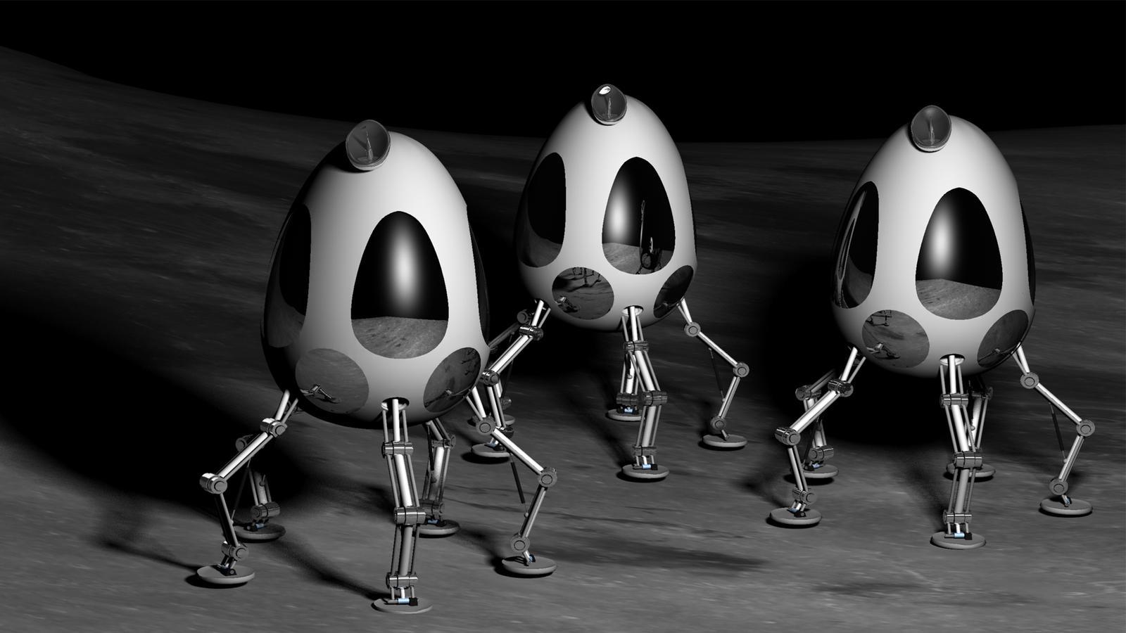 Lunar Bots by TylerXy