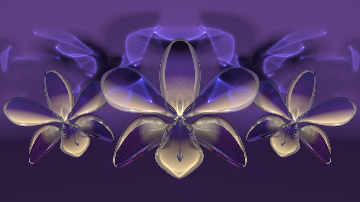Glass Orchids by TylerXy