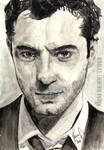 Jude Law | watercolor study by slatepath