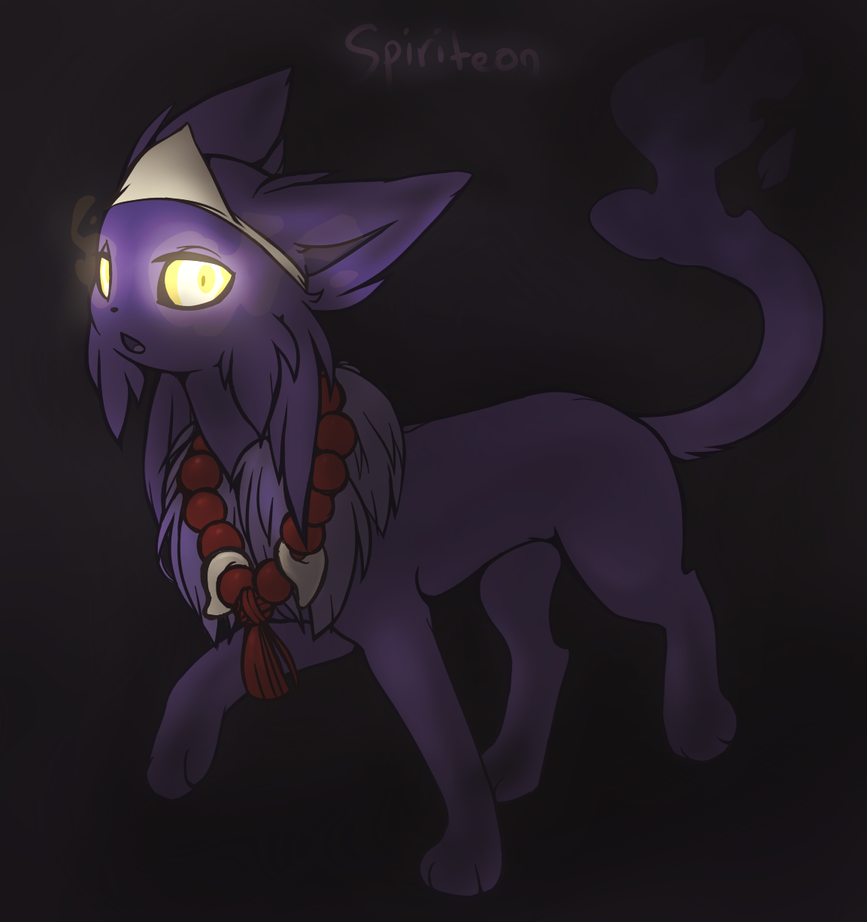 Spiriteon - fakemon by Mindmusic