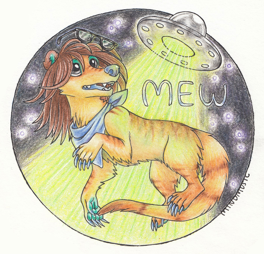 Mew traditional badge by Mindmusic