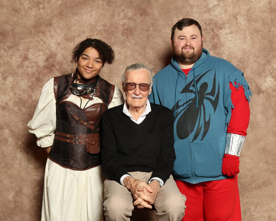 Meeting Stan Lee by cadefoster