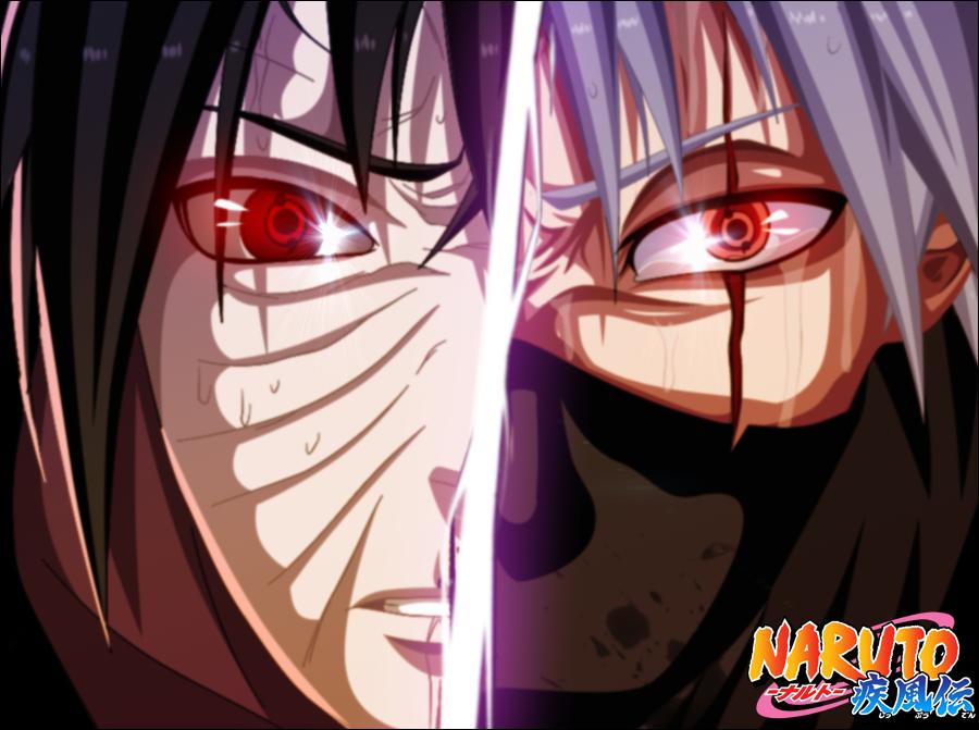 Obito and Kakashi by iAwessome on DeviantArt