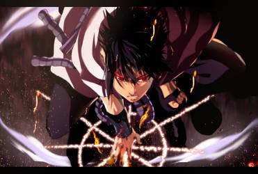 Sasuke Uchiha by iAwessome