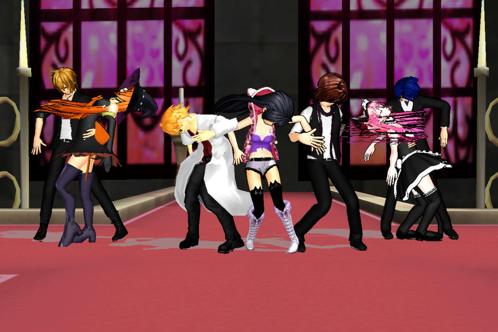 [MMD] MineCraft Diaries Crazy nighT *LINK* by TwinHead9572