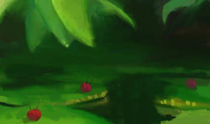 Pond Dwellers by DimiLine
