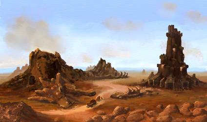 Landscape 2 by DimiLine