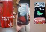 My kpop phone case paintings by Jainamae777
