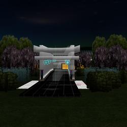 Cyber Lantern Temple