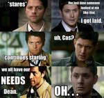 Castiel's Dilemma by ladycross