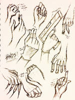Hands by ladycross