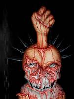Skull-detail by MMelinda