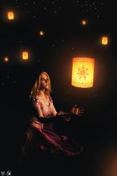 I see the light... Tangled Rapunzel by Daiyamondo by DaiyamondoWonderland