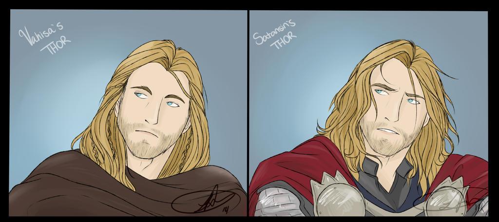 My Thors by LeopardXCrow