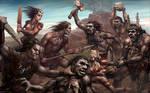 Mesolithic battle