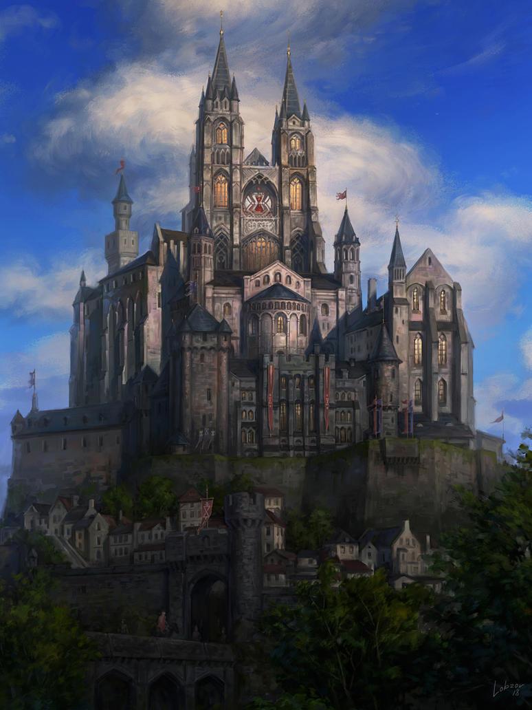 Castle by Lobzov