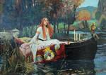 The Lady of Shalott by Lobzov
