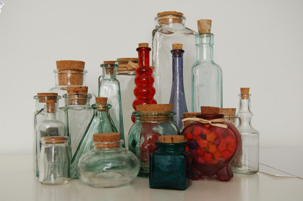 Collection of Bottles by RosesLittleSecrets