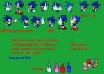 Custom Sonic Pixel Art reuploaded