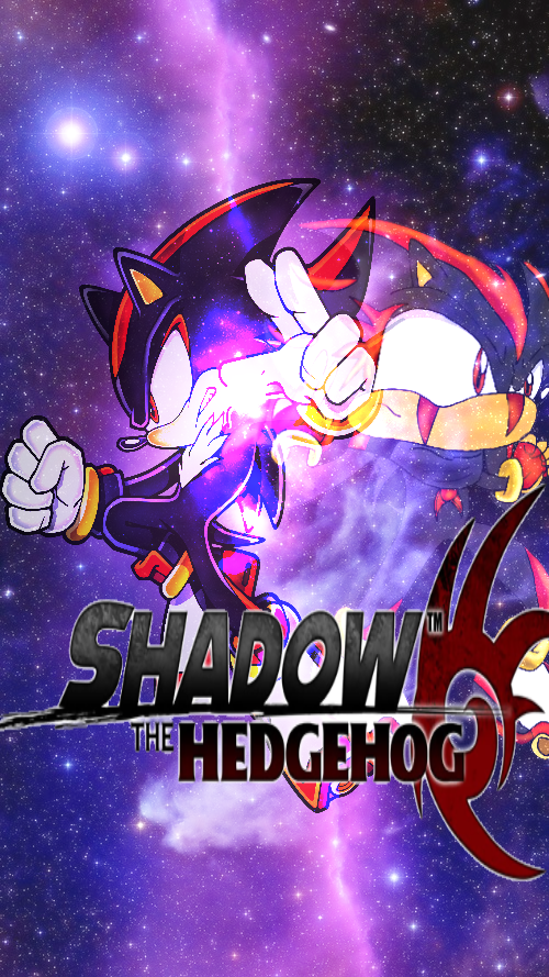Shadow The Hedgehog Phone Wallpaper By TheRedThunderX