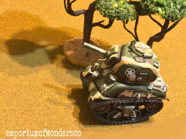 meng world war toons sherman model kit