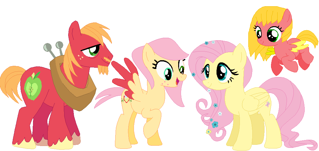 old headcanon future fluttershy and big macintosh by mrscookie11 on
