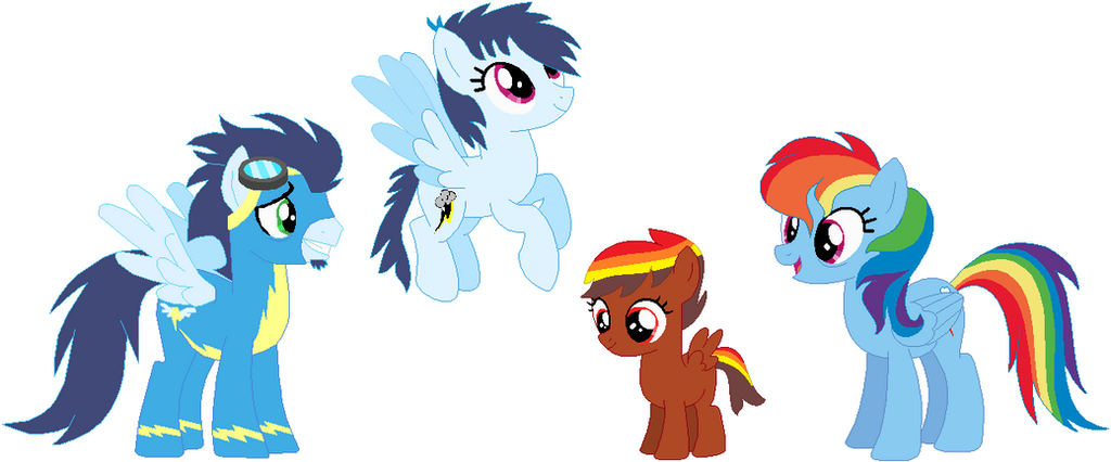 SoarinDash Family by mrscookie11