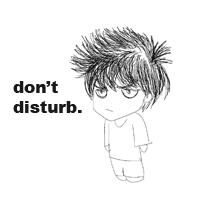 Don't Disturb. by LovelyGioia