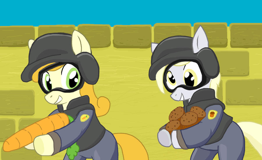 Carrot Strike Condition Muffin by Shutterflye