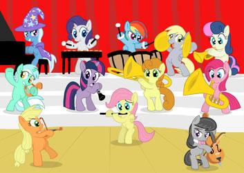 Equestrian Fillyharmonic by Shutterflye