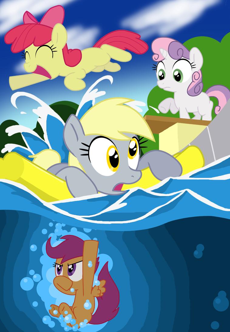 Cutie Mark Splash Makers by Shutterflye