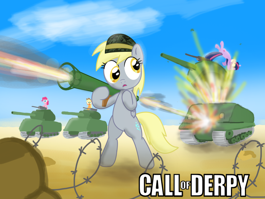 Call Of Derpy by Shutterflye