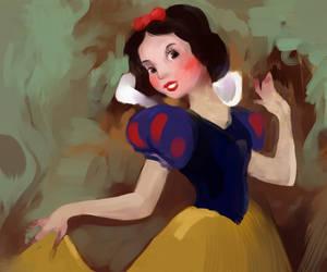 Snow White sketch