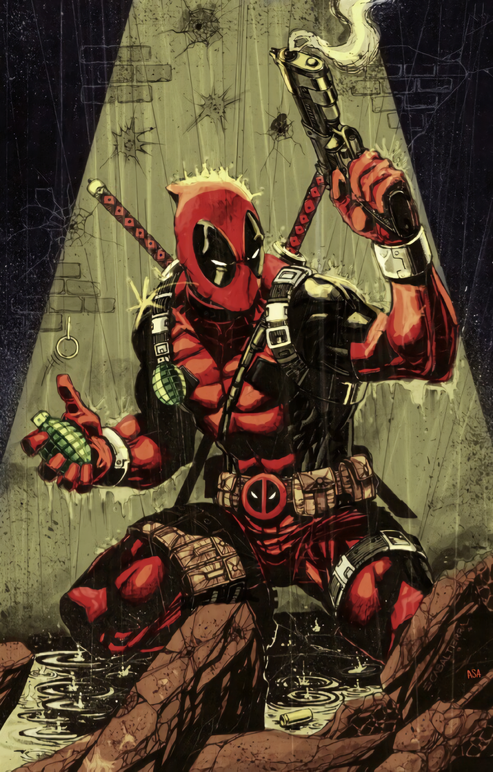 Deadpool by arissuparmanart