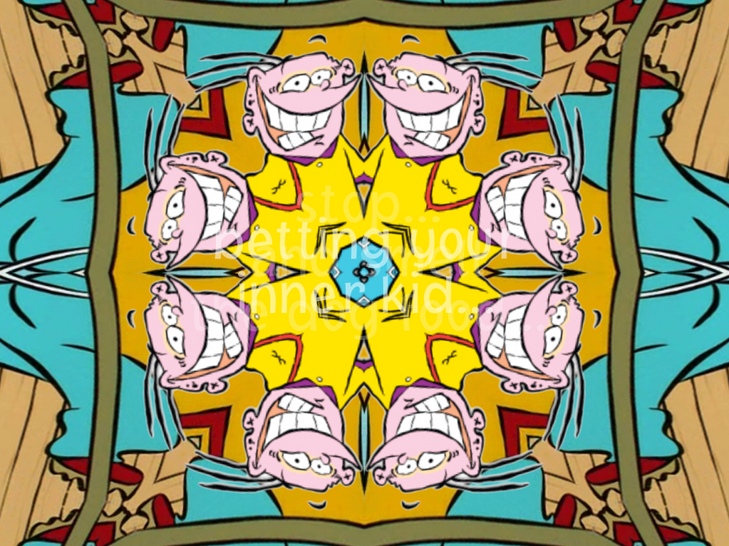 Cartoon Cartoon kaleidoscope promo example (3) by kaylor2013