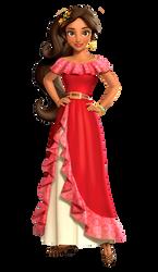 Princess Elena poses by kaylor2013