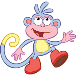 Boots the Monkey poses by kaylor2013