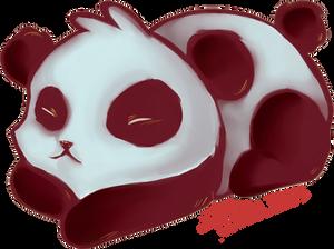 Panda's Sticker
