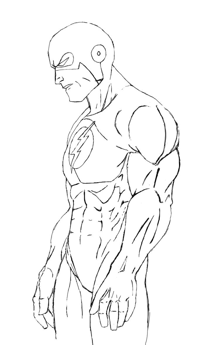 The flash vs reverse flash coloring pages to print for Flash da colorare