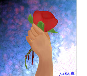 Bloody Love by ElizabethsAnimated