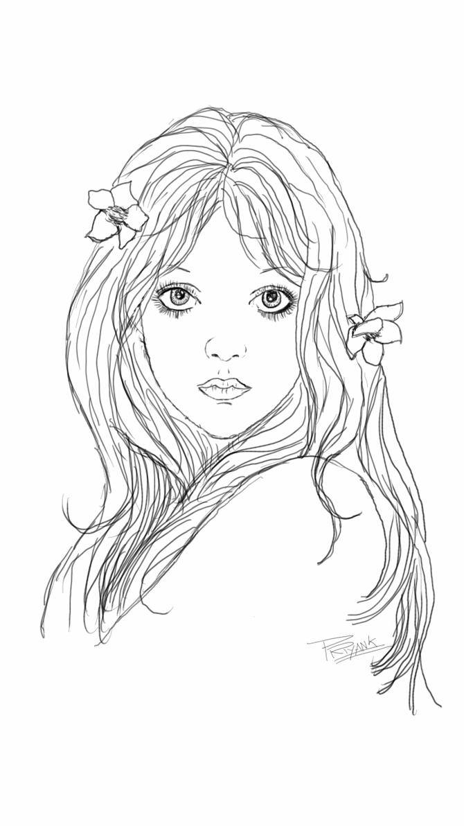 Names Of Line Drawing Artists : Mira fujita line art by bitts on deviantart