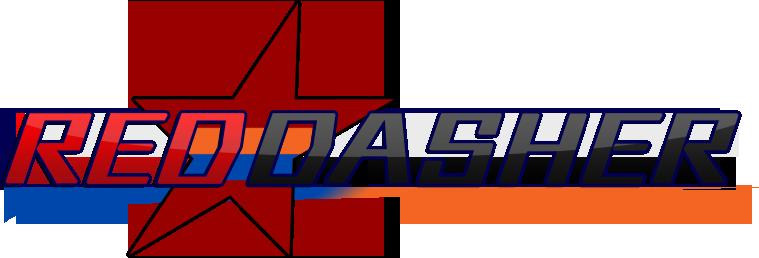 Red Dasher series logo V2