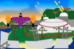 Super Smash Bros. stage: Invasion