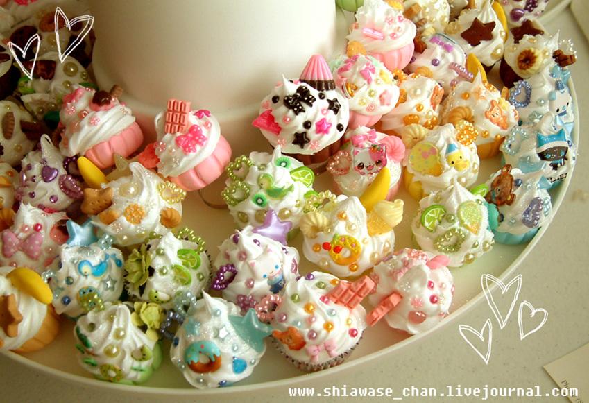 Deco Lolita Cupcake Rings by shiawase-chan