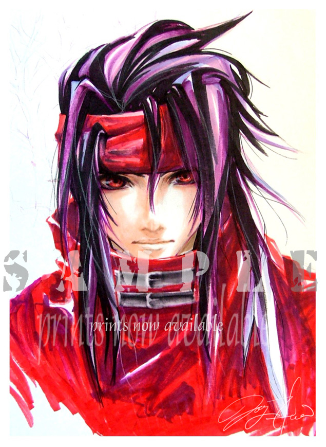 Vincent Valentine by shiawase-chan
