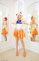 Sailor Venus: Sweet Reflection by KoriStarfire