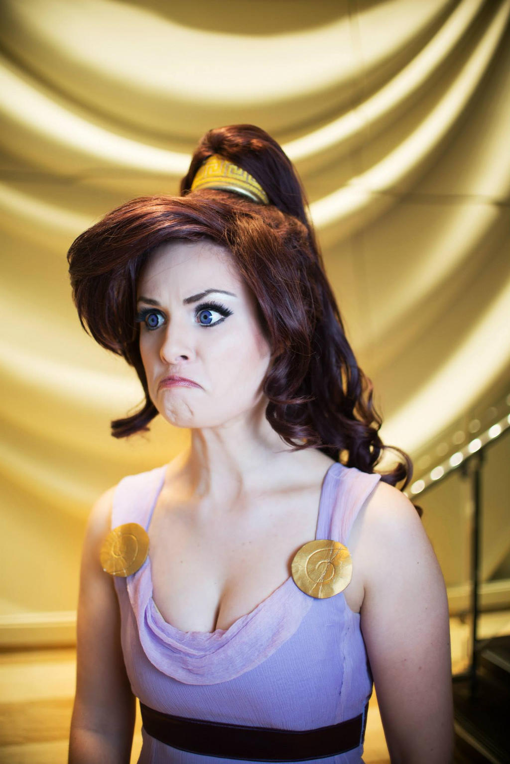 Grumpy Meg. The grumpiest Disney heroine of all by KoriStarfire