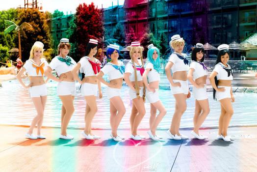 Sailor Sailors Make Up!!