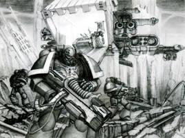 Iron Hands by vijil