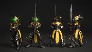 League of Legends Master Yi 3D Model